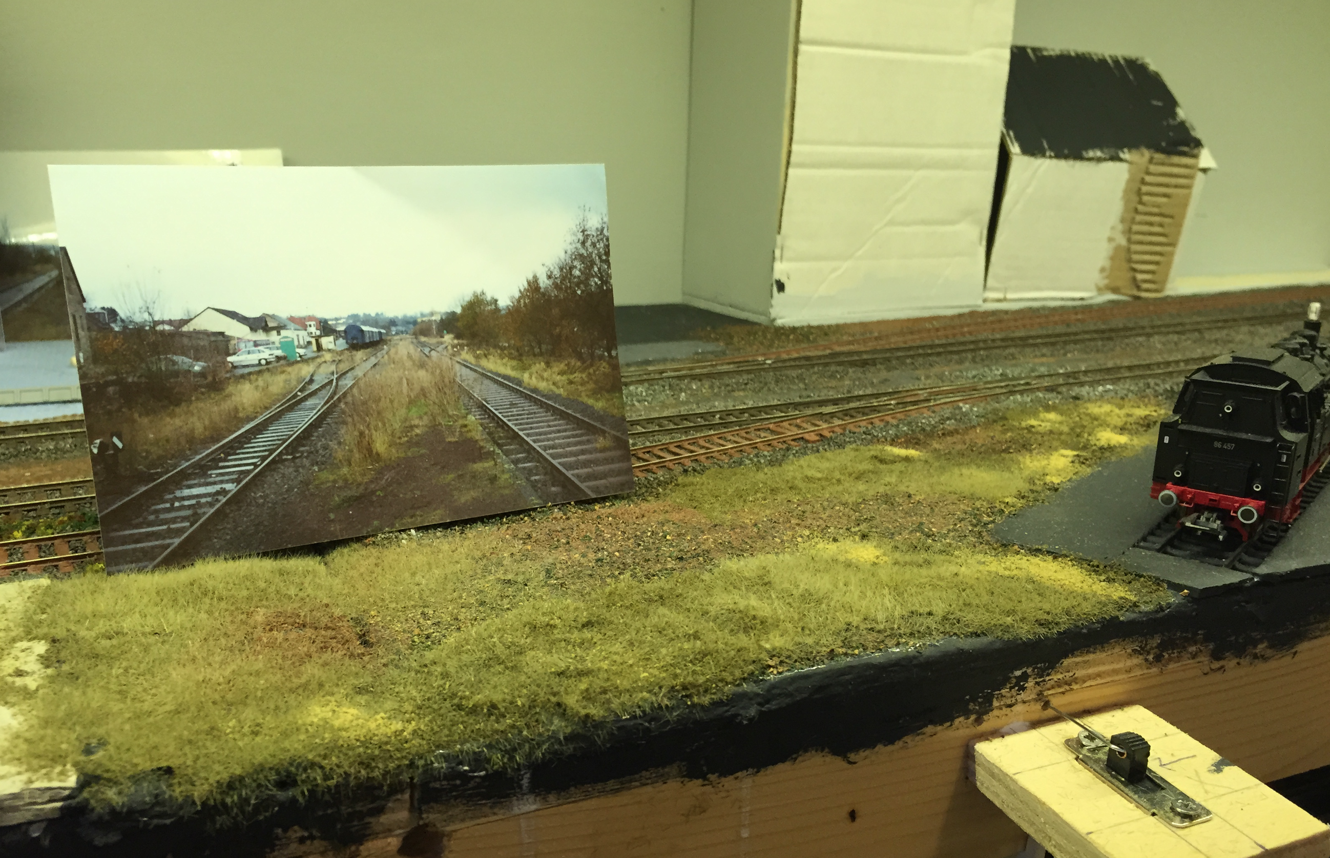 vegetation on my model railroad