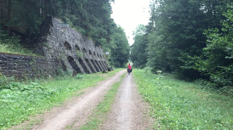 Cycling on the former German 'Ahrtalbahn'